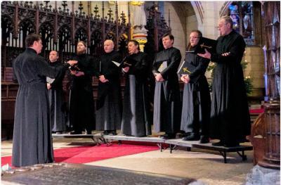 """Foto zur Meldung: Hymnen, Volkslieder und Wissenswertes über Russland mit dem Chor des """"Heiligen Wladimir"""""""