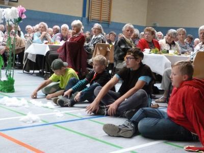 Auftritt der Juniorranger beim Seniorenfest