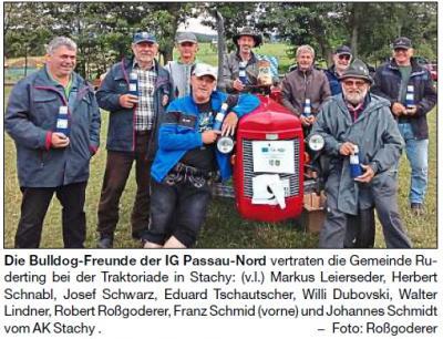 Vorschaubild zur Meldung: In Sachen Partnerschaft im Böhmerwald unterwegs