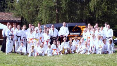 Gruppenfoto Traditionelles Karate Neuenhagen