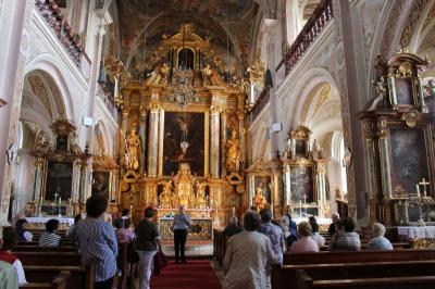 Vorschaubild zur Meldung: Ausflug in eine beeindruckende Klosterkirche