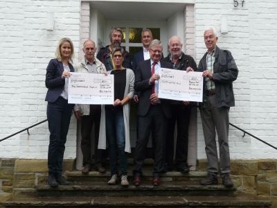 Vorschaubild zur Meldung: Spenden der Barmenia Versicherung Wuppertal