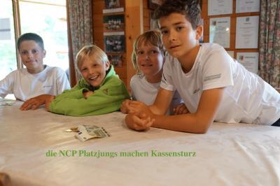 Vorschaubild zur Meldung: Tennis: Gute Stimmung bei der NCP Open I