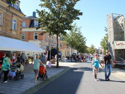 Foto zur Meldung: 5. Freizeit- und Vereinsmeile in Heidenau