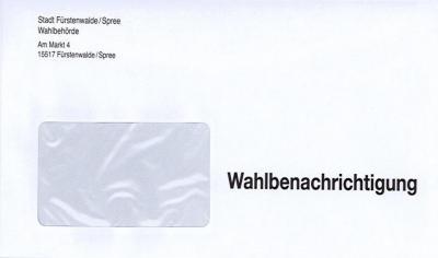 Briefwahl 2017