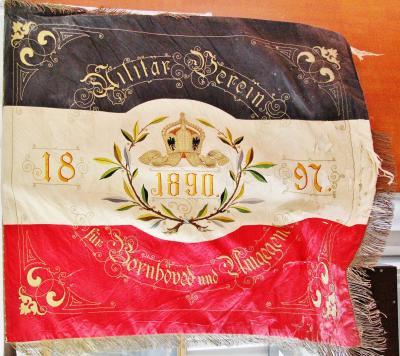 Foto zur Meldung: Vor 120 Jahren: Fahnenweihe beim Militärverein