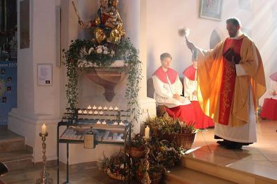 Foto zur Meldung: Feierlicher Gottesdienst zum höchsten und ältesten Marienfest