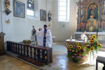 Foto zur Meldung: Kräutersegnung zum Fest der Aufnahme Maria in den Himmel