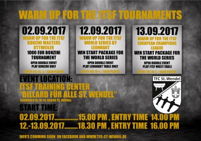 """Vorschaubild zur Meldung: Turnierserie als Vorbereitung für die """"Week of Table Soccer"""""""