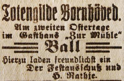 Foto zur Meldung: Vor 110 Jahren: Vereinigung der Totengilden