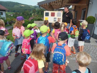 """Foto zur Meldung: Thema """"Sonnenergie"""" im Kindergarten"""