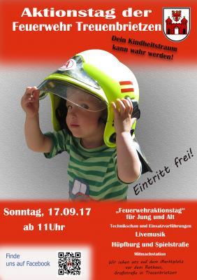 Foto zur Meldung: Dein Kindheitstraum kann wahr werden – Aktionstag der Feuerwehr Treuenbrietzen
