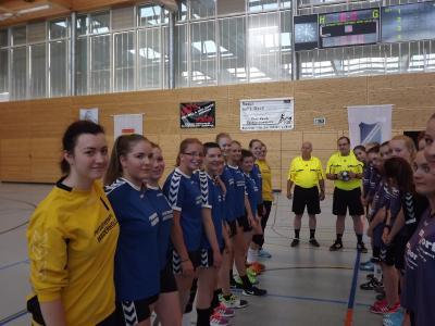 Foto zur Meldung: Handball: (noch wjB) verliert Vorbereitungsspiel