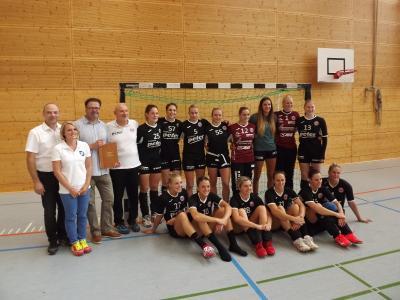 Foto zur Meldung: Handball: THC gewinnt in Bleicherode gegen Cluj (Rumänien) mit 39 : 29