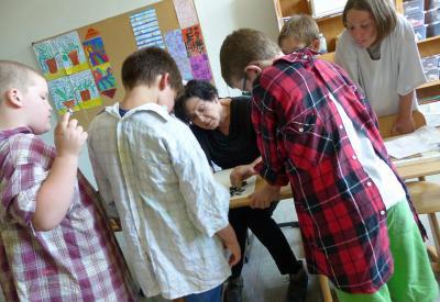 Vorschaubild zur Meldung: Kooperation mit der Freien Kunstschule