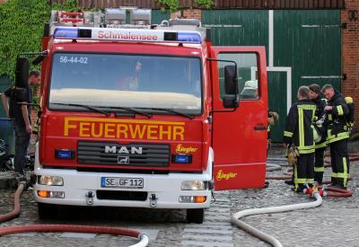 Foto zur Meldung: Dies ist eine Übung – Alarmfahrten der Feuerwehren am 12. September