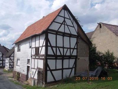 Vorschaubild zur Meldung: Burggasse / Dorferneuerung / Versteigerung des ehemaligen Hauses Ries