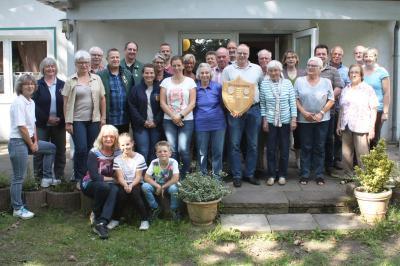 Teilnehmer beider Vereine aus Herzberg und Hannover