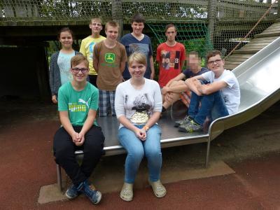 Vorschaubild zur Meldung: Die neue Schülervertretung der Reinhard-Lakomy-Schule