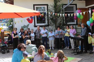 """Foto zu Meldung: Evangelischer Kindergarten """"Regenbogen"""" feierte sein 115-jähriges Bestehen"""