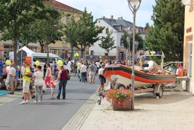Foto zur Meldung: Die 5. Freizeit- und Vereinsmeile in Heidenau war ein guter Erfolg,