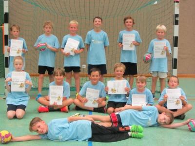 Vorschaubild zur Meldung: Super Einsatz beim Handballturnier!