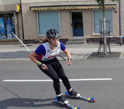 Foto zu Meldung: Skiroller-City-Sprint