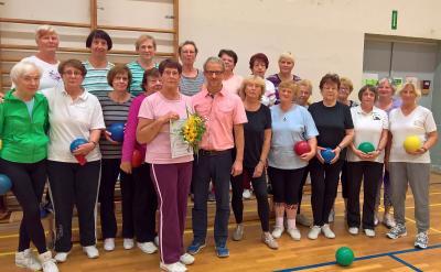 Foto zur Meldung: 60 Jahre aktive Mitgliedschaft im TSV Doberlug