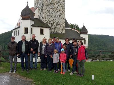 Foto zur Meldung: Der Ausflug des Dorfvereins ins Altmühltal war wunderschön