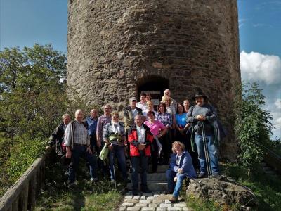 Foto zur Meldung: Herbstwanderung führte nach Kollnburg