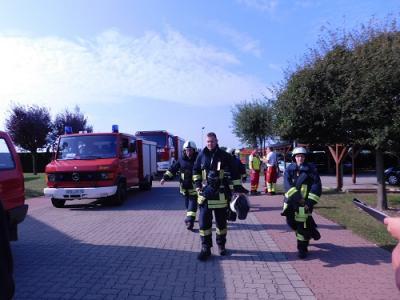 Vorschaubild zur Meldung: Großübung der Feuerwehren der Stadt Seeland