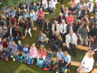Foto zur Meldung: Willkommen in der Elbtalgrundschule