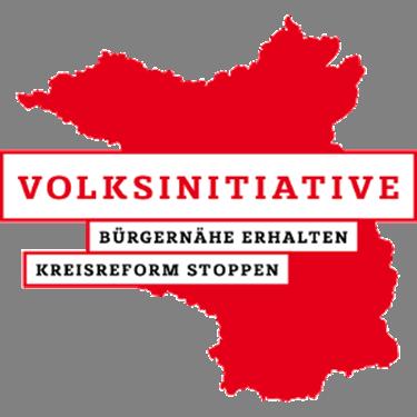 Vorschaubild zur Meldung: Volksbegehren Kreisreform stoppen - Eintragungslisten liegen aus