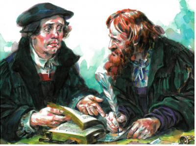 Foto zur Meldung: Conrad Cordatus – Luthers Freund und Reformator Niemegks - Ein Vortrag von Pfarrer i.R. Hans-Hinrich Griesbach