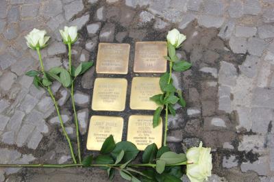 Vorschaubild zur Meldung: Fürstenwalde hat jetzt 50 Stolpersteine