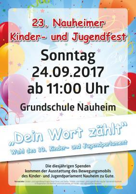 Kindr- und Jugendfest 2017