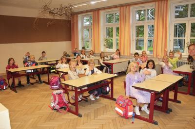 Einschulung 2017: Erste Stunde im Klassenraum