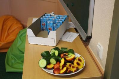Foto zu Meldung: Kostenlos Obst und Milch in Grundschule und Kindergarten