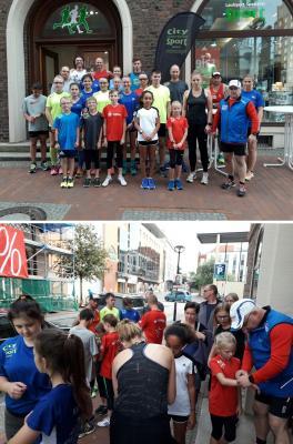 Foto zu Meldung: Laager Läufer testen Laufuhren