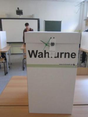 Foto zu Meldung: Projekt Juniorwahl anlässlich der Bundestagswahl