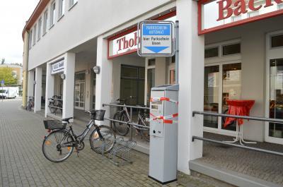 Vorschaubild zur Meldung: Parkscheinautomat gesprengt