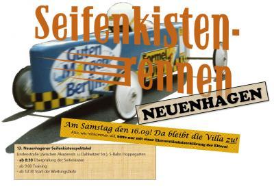 Foto zur Meldung: Seifenkistenrennen Neuenhagen am Samstag den 16. September!