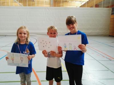 Foto zur Meldung: Handball mal (t) anders