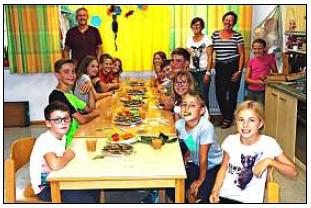 Vorschaubild zur Meldung: Gartenbauverein bereitet Kindern ein Vergnügen