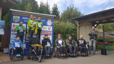 Foto zur Meldung: Inklusions-Biathlon-Challenge 10.09.2017