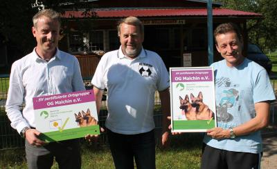 Foto zu Meldung: Die Ersten in MV: Malchiner Schäferhundeverein bekommt Gütesiegel vom Bundesverband