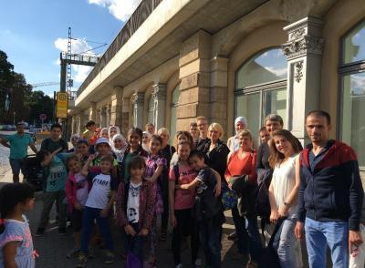 Foto zu Meldung: Ausflug der Bildungspatenschaften in den Zoo Leipzig