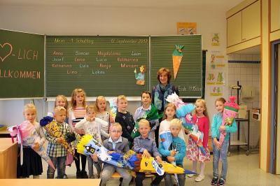 Foto zur Meldung: Schulanfänger 2017