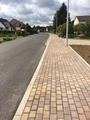 Vorschaubild zur Meldung: Ziegenhainer Straße / Straßenbau beendet