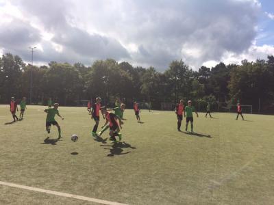 Foto zur Meldung: C- Junioren siegen im Kreispokal